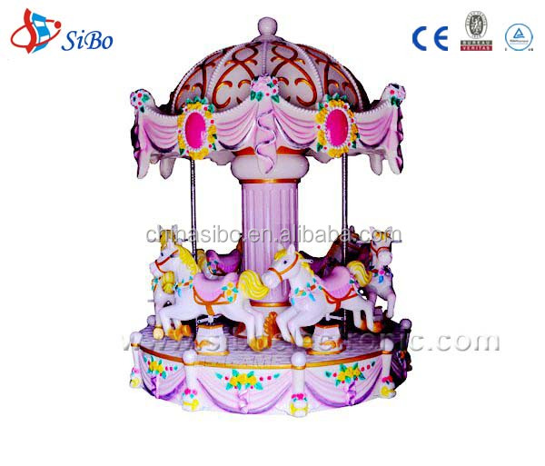 GMKP Luxury carousel horse amusement rides electric merry-go-round