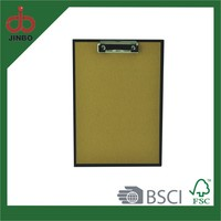 Promotional Recycle paper Cover Clip board