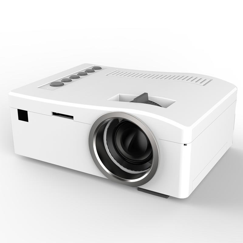 UNIC UC18 1080P Mini LCD Projector with Remote Controll Function & Removable 1500mAh Lithium Battery 48LM 320 x 180 Pixels