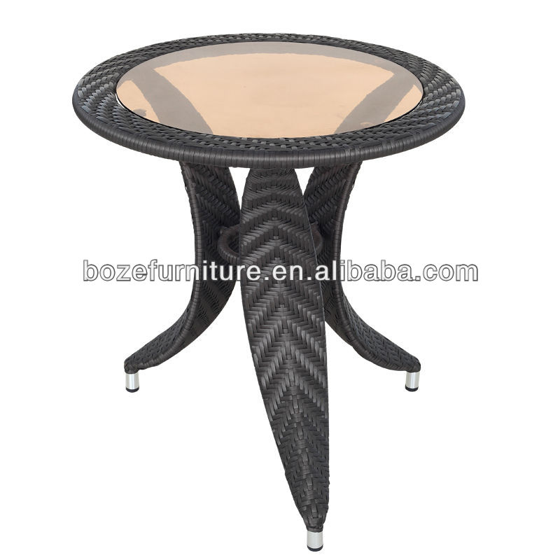 Outdoor rattan tea table BZ-TR008