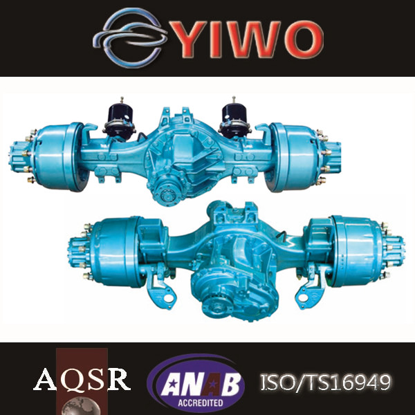 double drive alxe truck rear axle assembly tandem axle for truck for sale