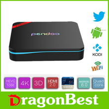 2016 New design Pendoo X8 Pro+ S905X 1G 8G dongle android with high quality KODI TV Box
