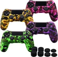 Hot designs Navy camouflage for ps4 controller silicone cover case
