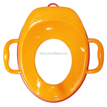 Wholesale portable baby toilet potty seat with rubber anti-slip rim