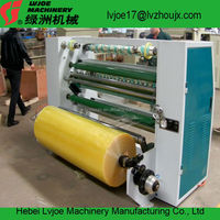 Jumbo roll BOPP,PVC,PET,PE,Adhesive Tape Roll slitter Rewinding slitting machine machine