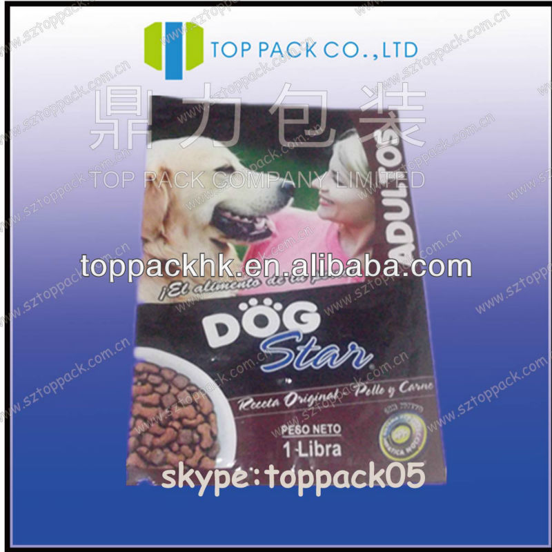 High Quality Pet Food Bag China Suppliers/laminated doypack
