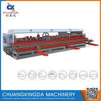 Automatic Granite Marble Tiles round edge chamfer and polishing machine