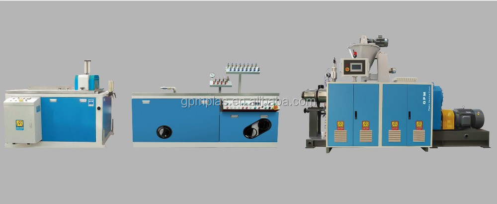 China supplier high quality wpc profile production line