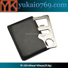 Yukai EDC Credit Card Shape Multi Tools With Custom Logo