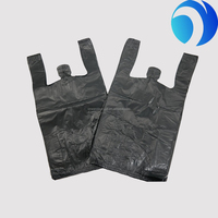 Machine made high quality biodegradable plastic vest t-shirt bag cheap price