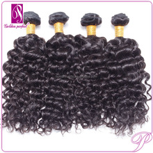 Peruvian Kinky Curly Hair Weft free Hair Weave Samples accept paypal dropship