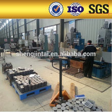 Wedge Slab Steel Wire Multiple Hole Post Tension Concrete Bridge Construction Prestressed Anchorage