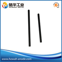 Manufacture supplier anti-corrosion using titanium MMO solid rod anode