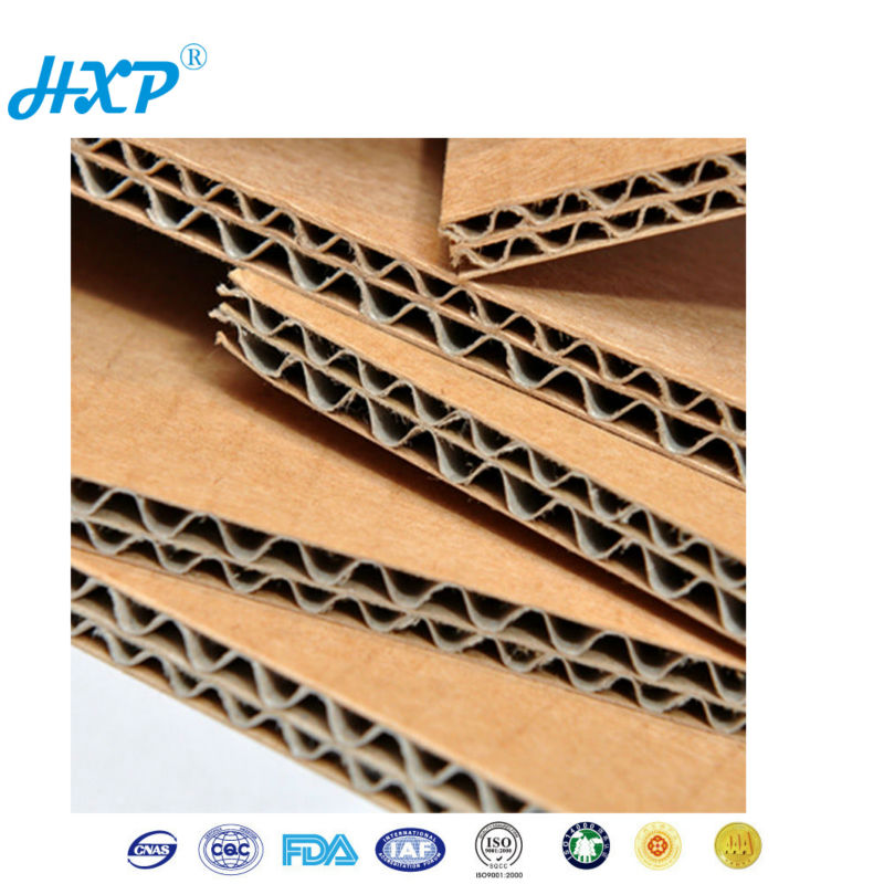 E Flute custom corrugated cardboard sheets wholesale for home appliance