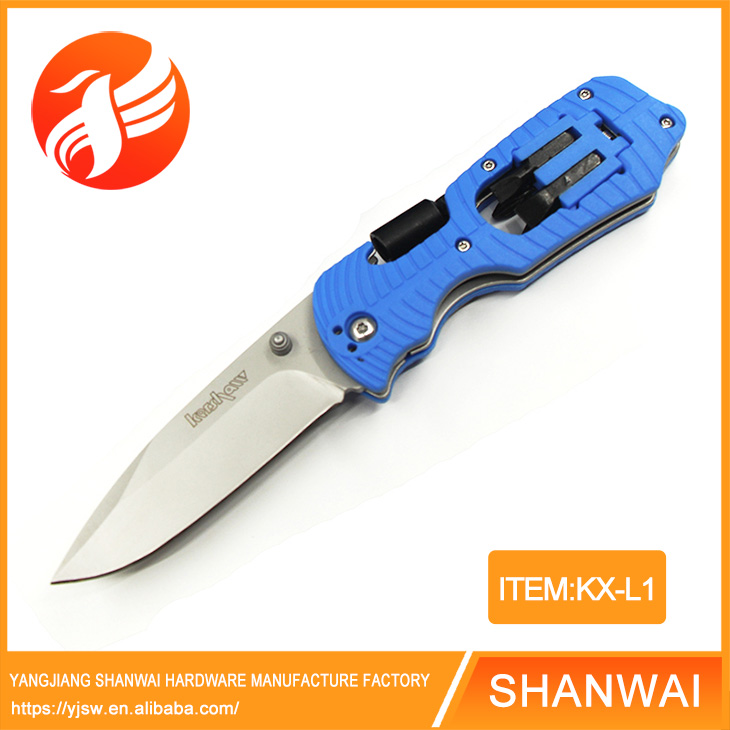 Survival folding knife pocket multi tools camping knives