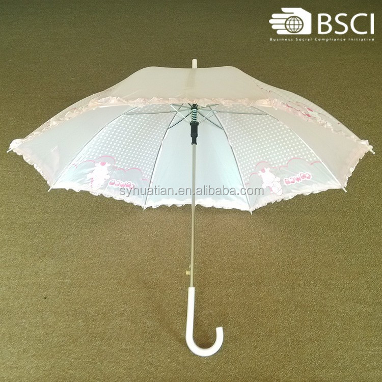 2015 Perfect quality wholesale dream design parasol lace umbrella