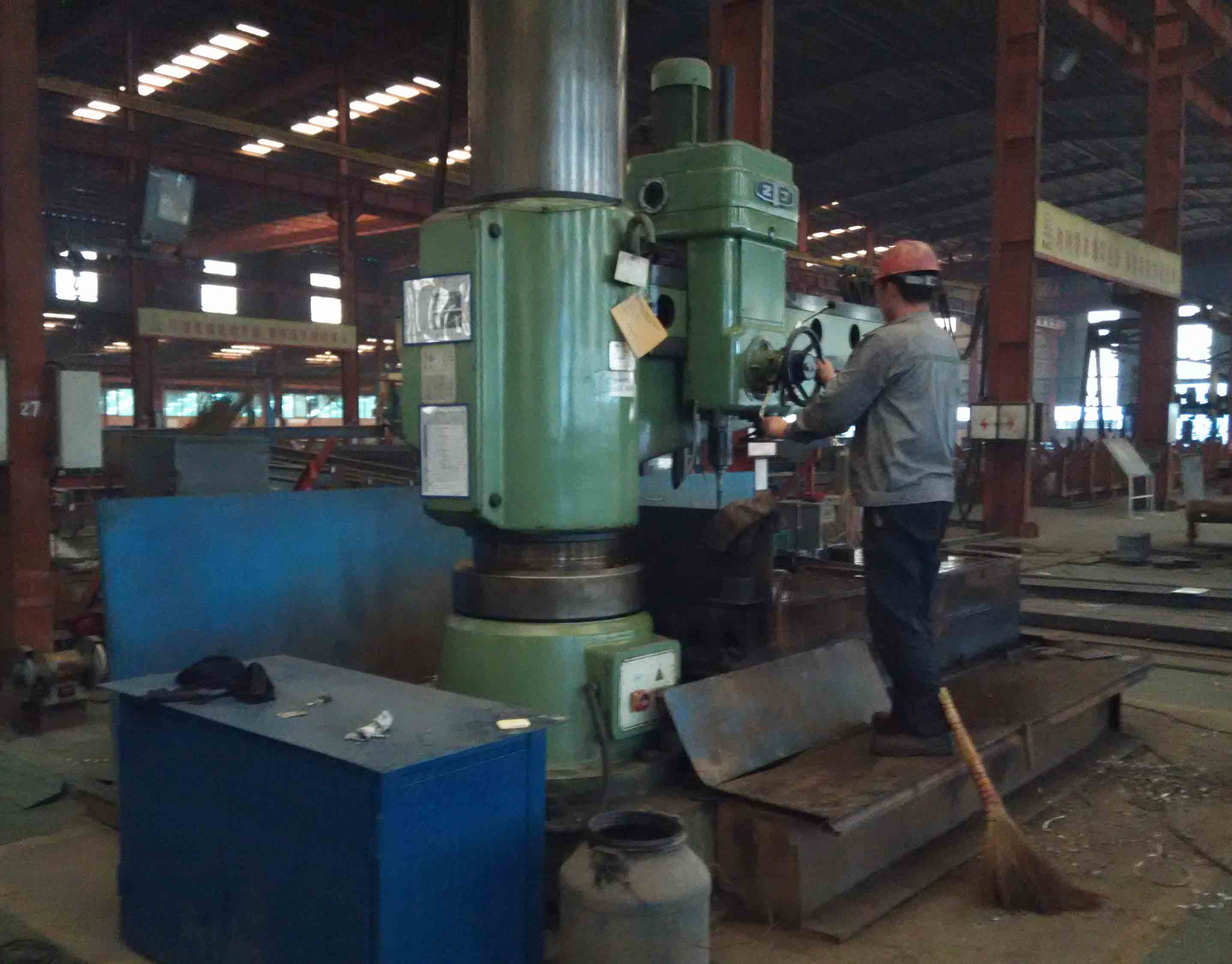 Drilling-H Section Steel
