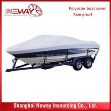 Polyester Waterproof and UV protect boat covers