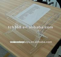 Small Acrylic portable lectern