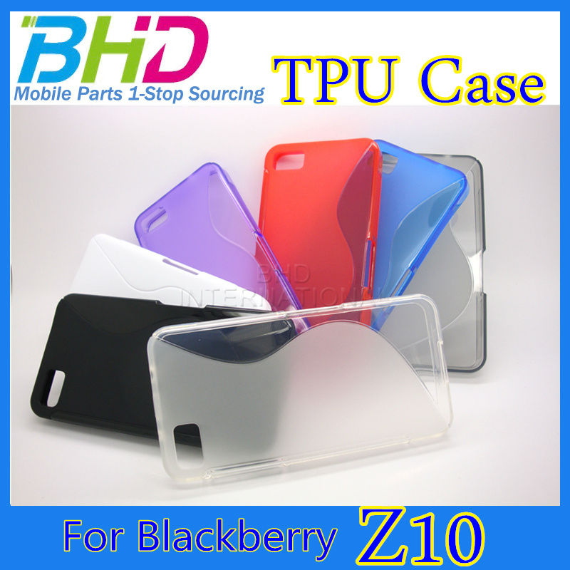 Hot selling tpu case for Blackberry Z10 Case