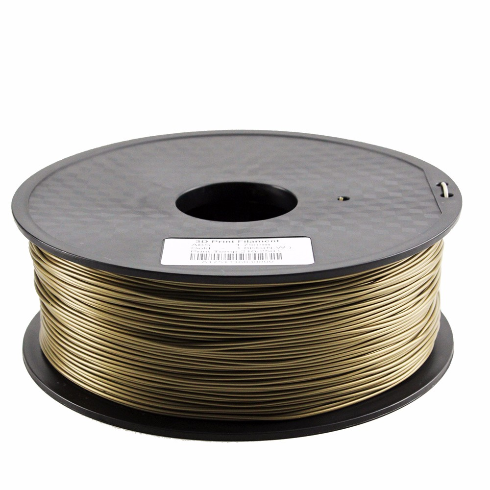 Real Metal filled filament for 3d printers metal pla filament 1.75mm/3.0mm with high quality