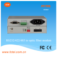 FCTEL fiber multiplexer rs232 to sc port media converter, 3g universal modem