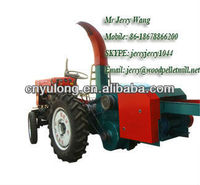 tractor mounted wood log crusher/wood chipper/wood shredder