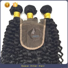 Hair Wet And Wavy Virgin Wholesale Brazilian Hair Bundles With Closure