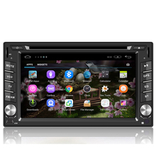 ANDROID 5.1.1 double din CAR DVD for UNIVERSALwith mirror link eayconnect