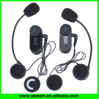 800 meter Motorcycle,bicycle,skiing helmet bluetooth intercom waterproof