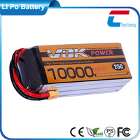 VOK Lion 11.1V Lipo Battery 10000mAh 3S 15C