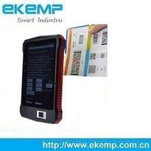 Customzied GPS Navigation Bionetric Tablet PC with Car Park Reader