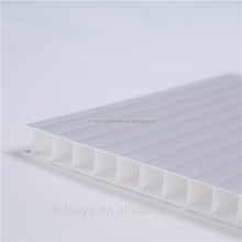 PC Sheet for Roofing Polycarbonate hollow sheet wiht UV coating