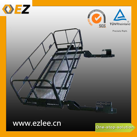 bicycle scooter folding hitch luggage carrier, cargo carrier