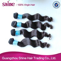 shinehair factory price wholesale human hair extension