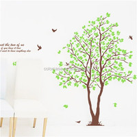 colorcasa removable large tree decal home decor ZYPB698AB family tree decorations interior wall decoration