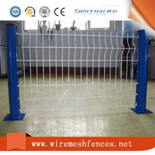 High Quality Powder Coating Metal Welded Curved Fence