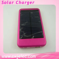 5000mah solar cell phone charger for iphone