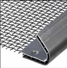 low carbon/galvanized/ stainless steel crimped mesh/screen/fence/netting