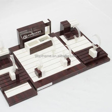 Wooden watch display stand