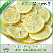 Health food,Certified,Excellent quality hot sell freeze dried lemon