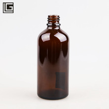 Manufacture frosted <strong>100</strong> ml amber glass bottle for liquid medicine