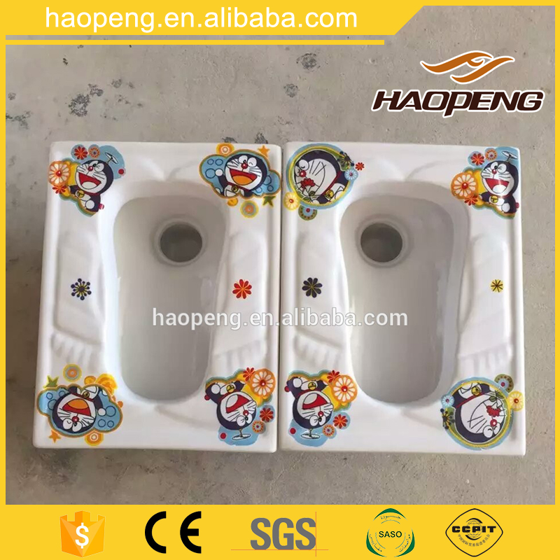 Doraemon Attractive Kid School Toilet Ceramic Bathroom Children Toilet