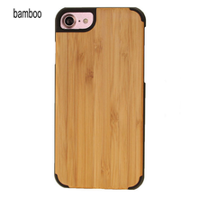 custom wood phone case for iphone7, natural wood case phone cover made in China for iphone 7