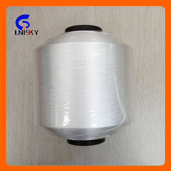 Polyester 100D/48F 450TPM Twisted weft Yarn for weaving with free sample