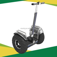 "2016 high quality off road self balancing personal transporter chariot electric scooter 19"" samsung battery with LED light"
