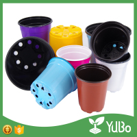 Strong and resilient Plastic Thermoform Nursery Pots For Flower Plants