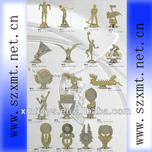 supply custom plastic human trophy cheap award figures
