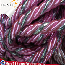 High quality polyester Braided rope 2mm diameter curtain string