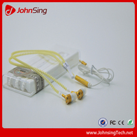 JohnSing LED Epoptic Fluorescent Zipper Earphone With Mic Wholesale In Stock High Quality